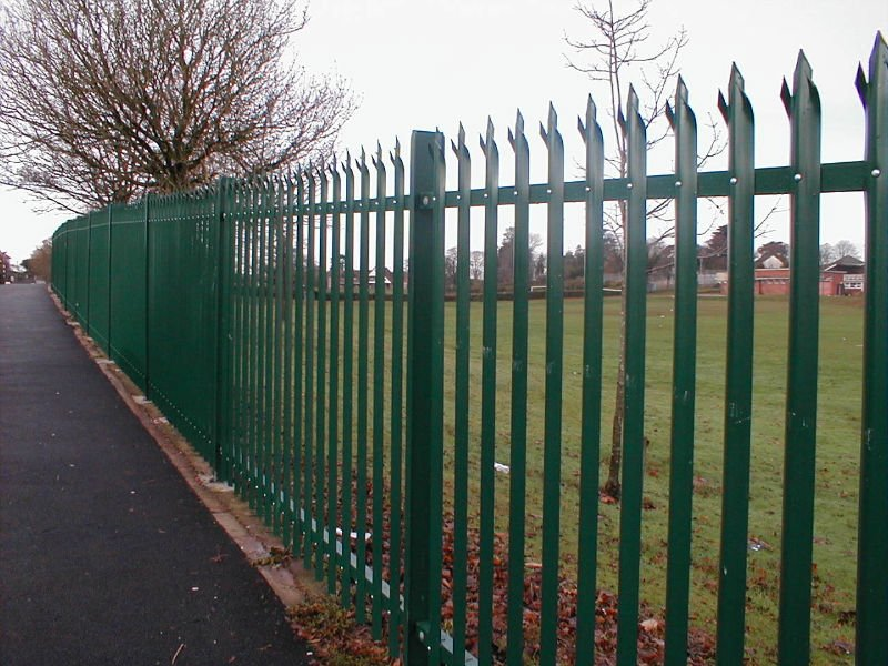 Palisade Fencing Security Fencing