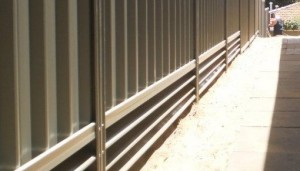 Steel Plinth Retaining